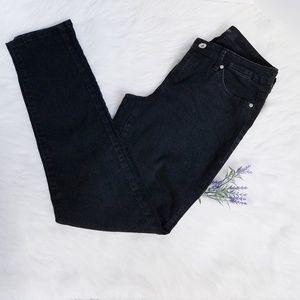 Nine West Black Cigarette Fit Jean's